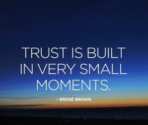 Brene Brown Quote about Trust